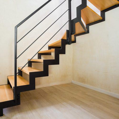 schody zzębatką